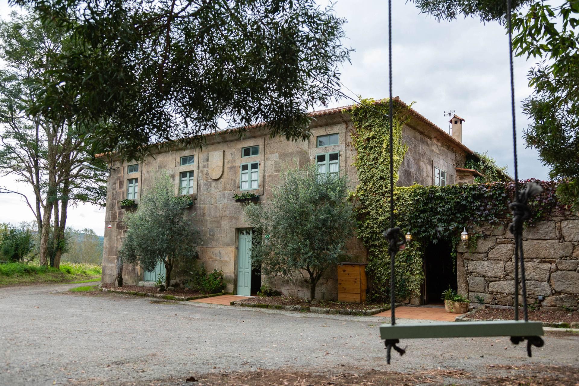 Fachada Principal - Priorato San Martín