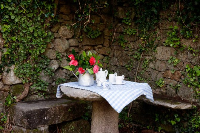 Jardines - Casa Rural Priorato San Martín