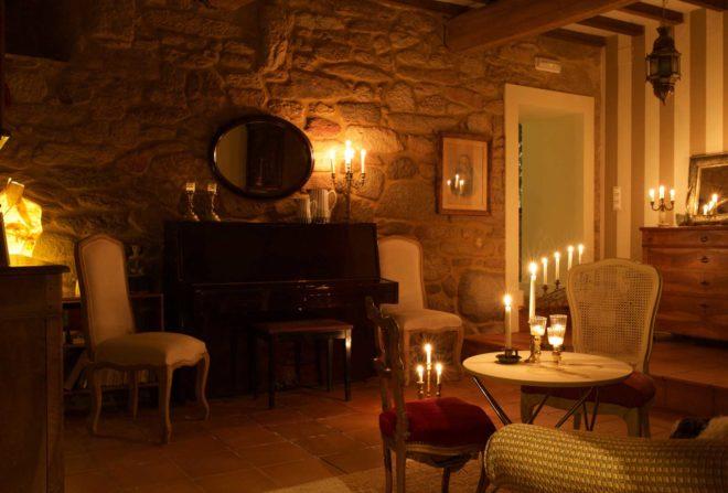Sala de Música - Casa Rural Priorato San Martín