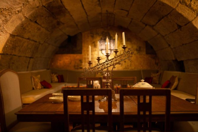 Salón - Casa Rural Priorato San Martín